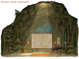 Study Cave Concept Art - AW