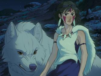 Princess Mononoke - Redraw