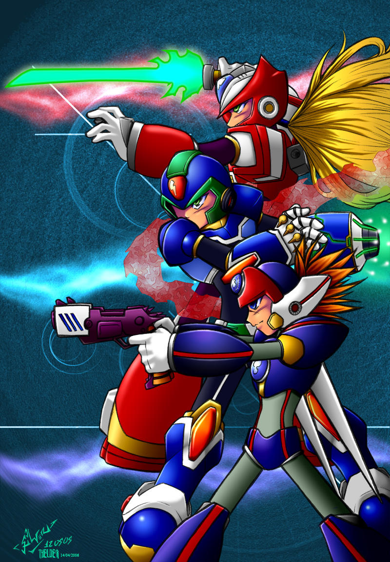Rockman X Command Mission by Thelder-sama