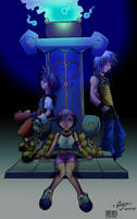 KH1 - A Light in the Darkness by Thelder-sama