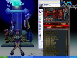 My Desktop round 1 by Thelder-sama