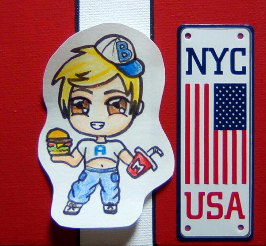Chibi America by Gwenou44-IceWolf