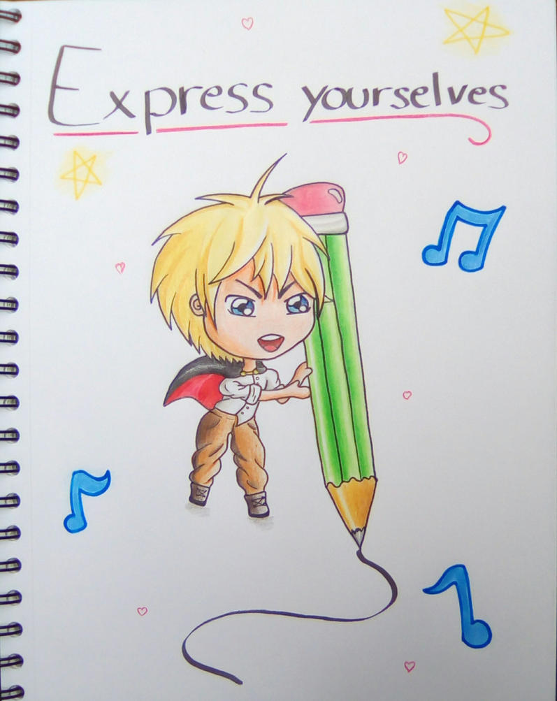 Express Yourselves by Gwenou44-IceWolf