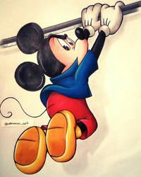 Mickey Mouse [Fan Art] by Gwenou44-IceWolf