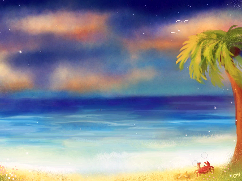 Cuba Beach by PolkaDotedFlower
