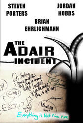 The Adair Incident (fan-made movie poster)