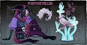 Fortune Teller Auction [ closed ] by SavoDraws-Adopts