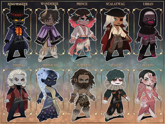 Flat Rate Chibis [ closed ] by SavoDraws-Adopts
