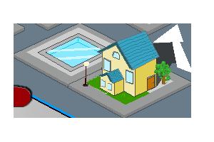 isometric  House by lahabz