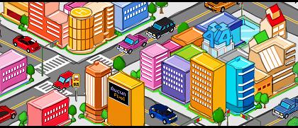 Planin Pixel CITY by lahabz