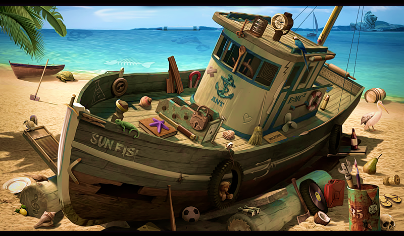Pirates Ship by lahabz