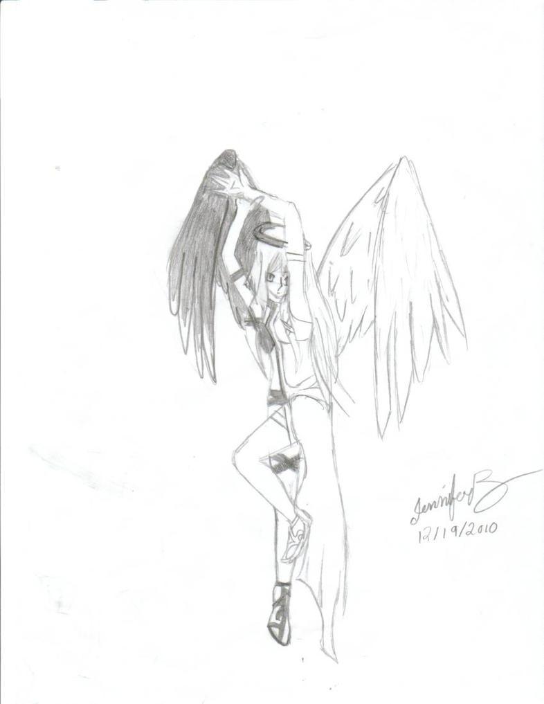 Half Demon- Half Angel by Jenny-Draw