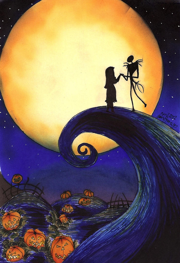 Tim Burton- Nightmare Before Christmas by Jenny-Draw on DeviantArt