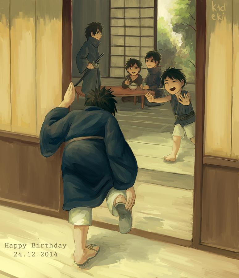 Happy birthday Madara by k1deki