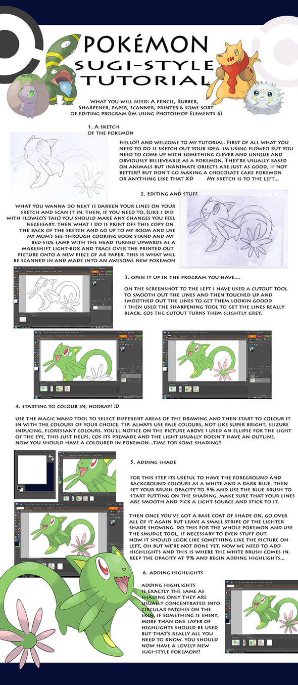 Sugi-style tutorial by Hallm3