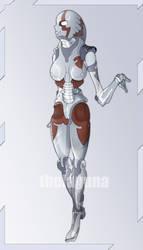 robogirl by thelaguna