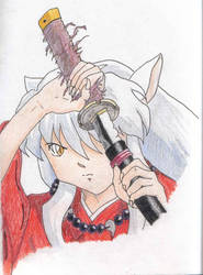Inuyasha's Sword by PurpleRainFall