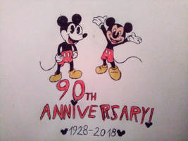Mickey Mouse 90th Anniversary by adelita03