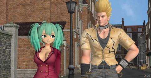 Benimaru X Ryofu:Are you Having Fun,Babe?