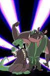 The Dynamic Villain Duo by KayzKraze