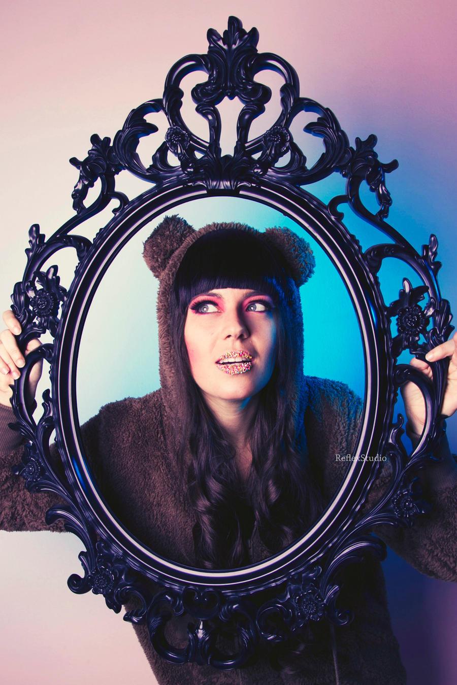 The Bear Girl by FedericaDN