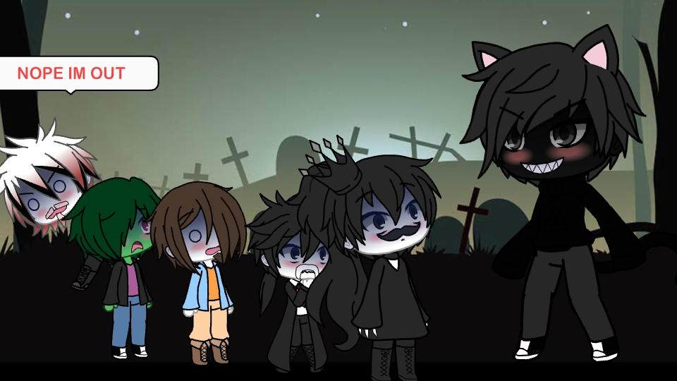 The Villains Meet Cartoon Cat In Gacha Life By Sashakitten101 On