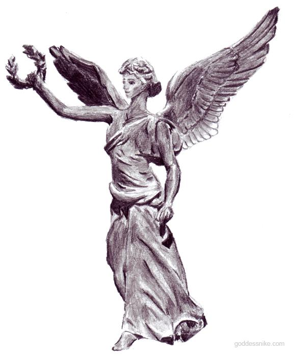 Goddess Nike at Rhodes by nikethegoddess on DeviantArt