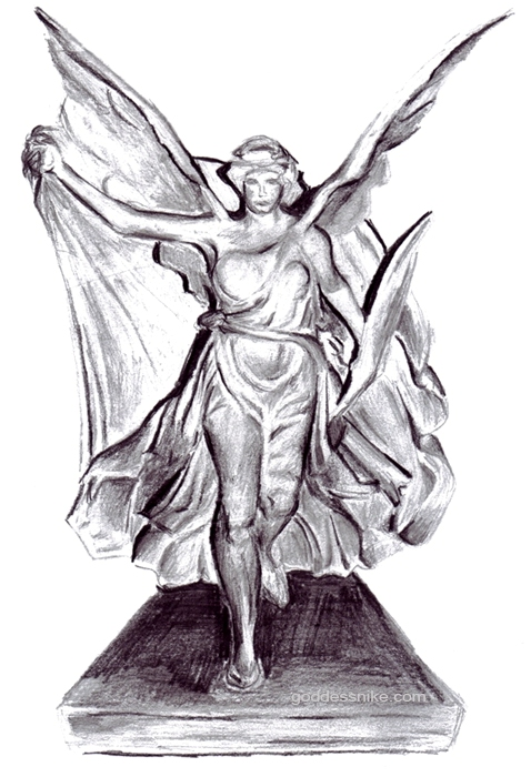 Goddess Nike of Paionios by nikethegoddess on DeviantArt