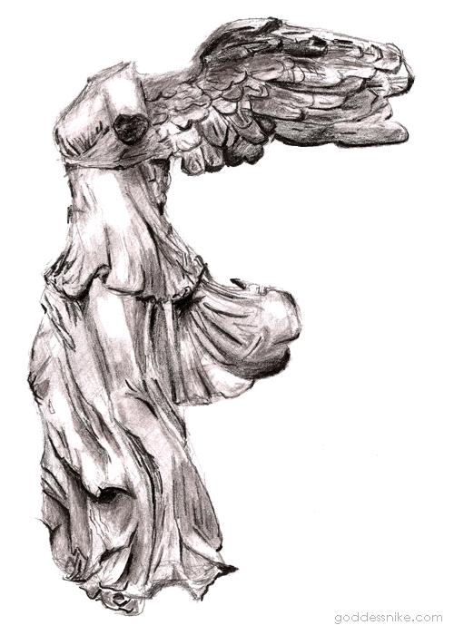 Goddess Nike of Samothrace by nikethegoddess on DeviantArt