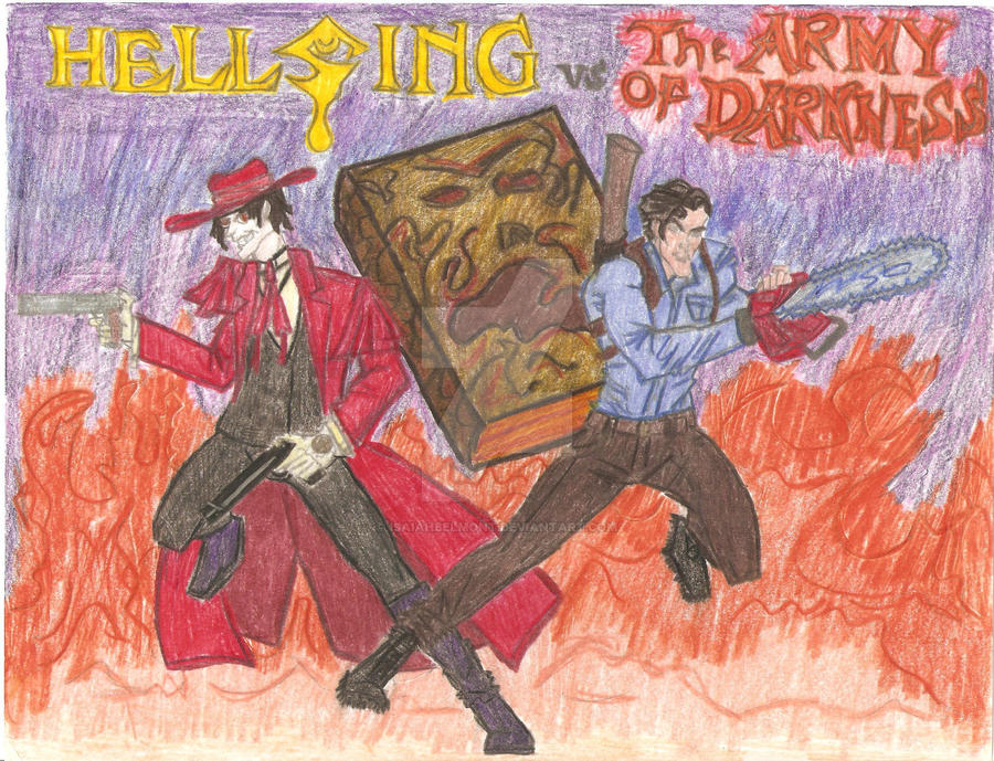 Hellsing vs The Army of Darkness by IsaiahBelmont