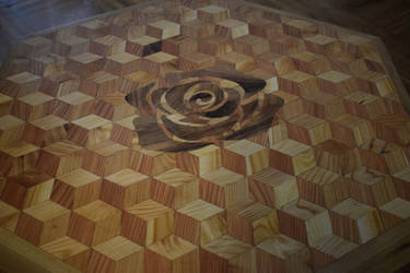 Wooden Tabletop by matcheslv