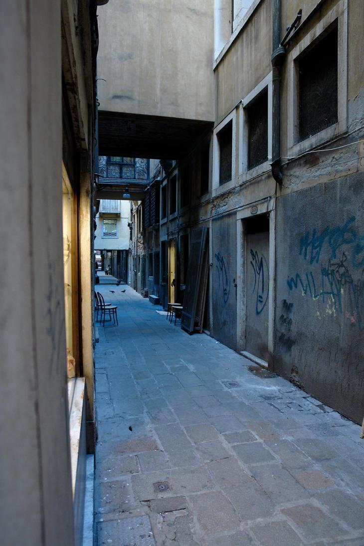 Dark Alley by archistock