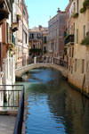Venice Canal and Bridge