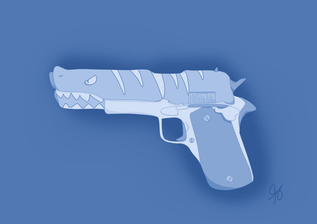 Shark Gun by PurplePupProductions
