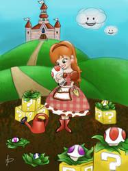 Character design: World of Mario by Aenwynn