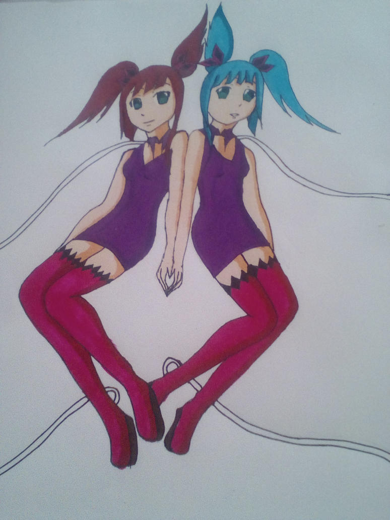 Twins Forever by mikulea