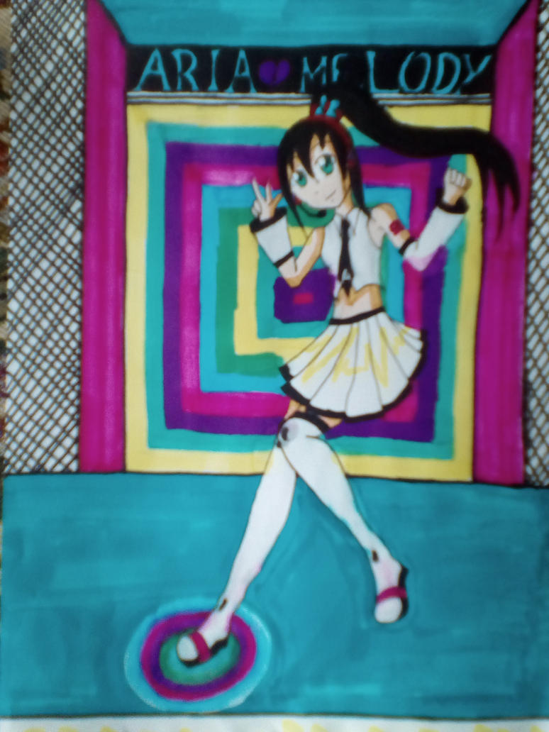Step by Step Aria Melody 2 by mikulea