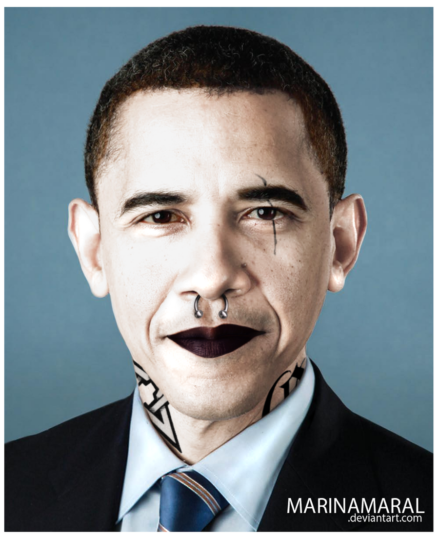 Presidents tattoo barack obama by marinamaral on deviantart for Does obama have tattoos