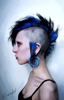 Punk Girl by marinamaral