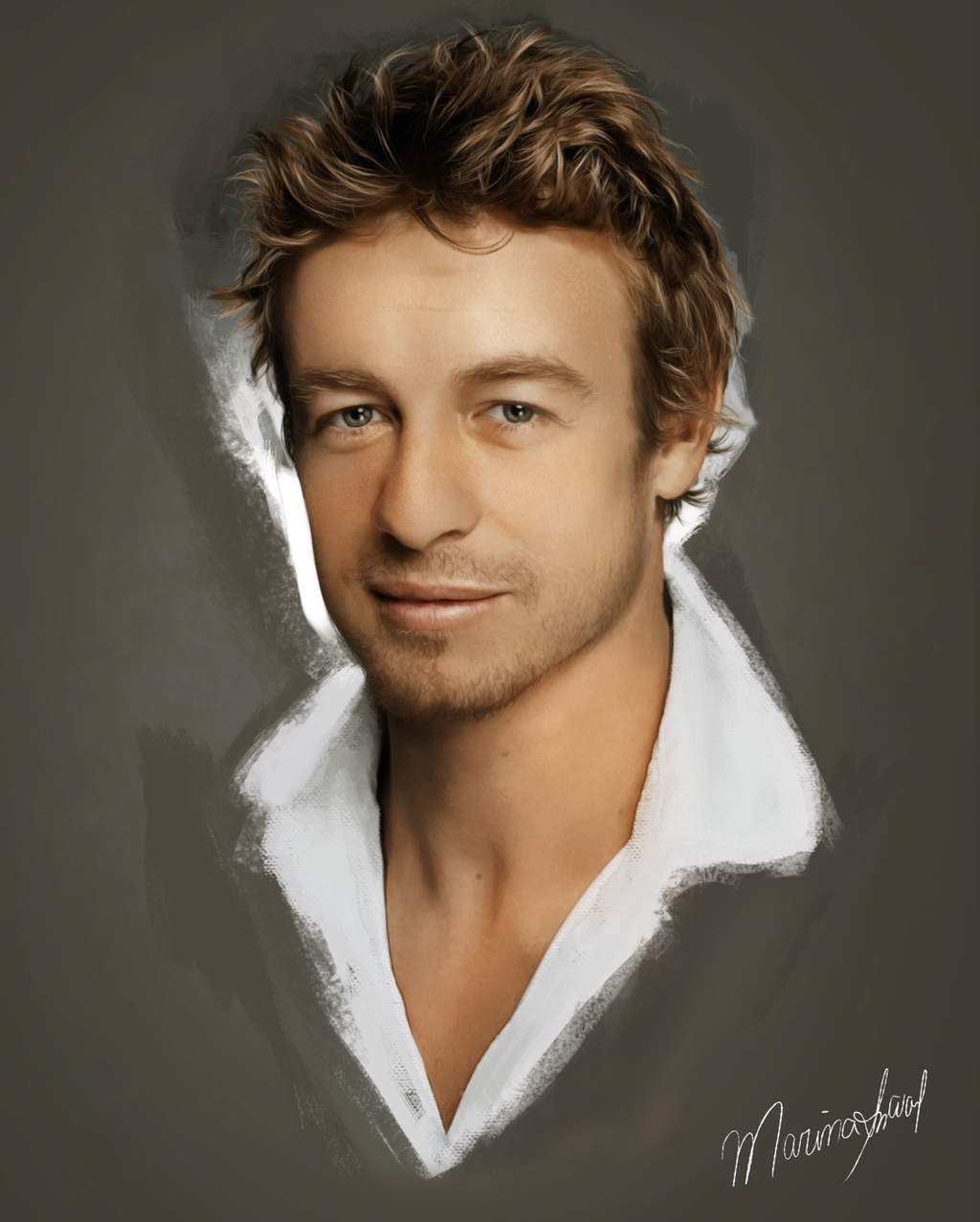 Simon Baker by marinamaral