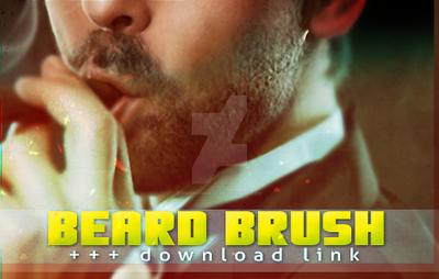 MY BEARD BRUSH (digital painting) + FREE DOWNLOAD by marinamaral