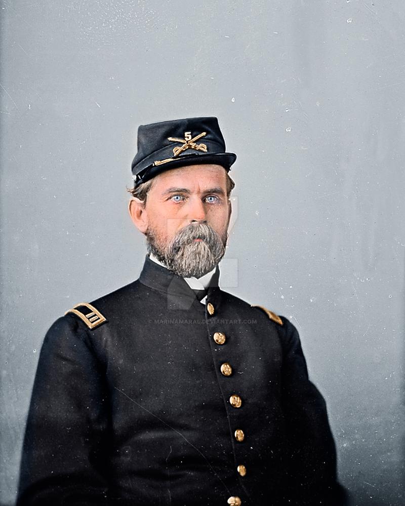 [Colorization] Capt. William P. Chambliss by marinamaral