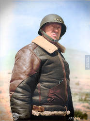 Colorization: General George S. Patton. by marinamaral