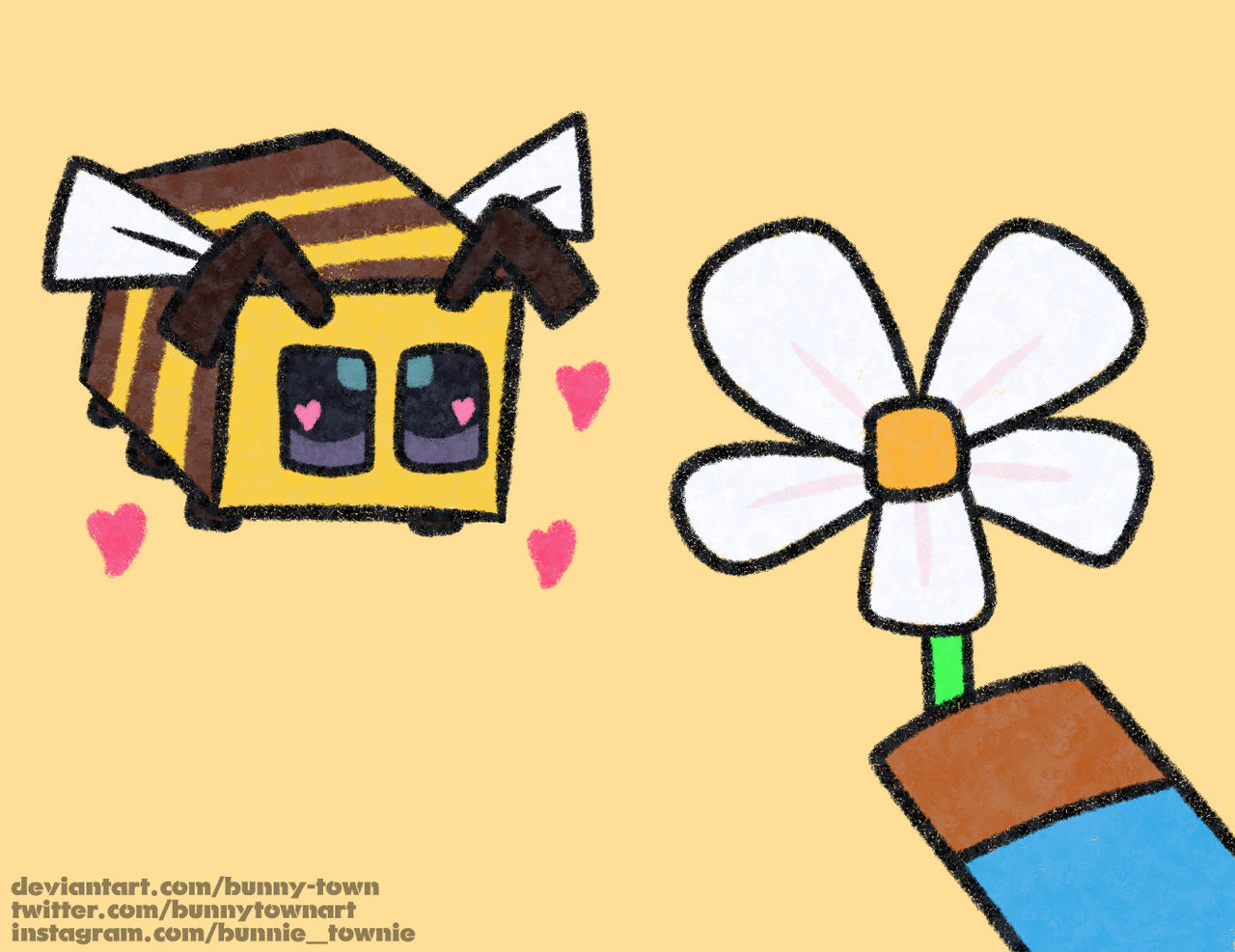 imma bee,,, by bunny-town on DeviantArt