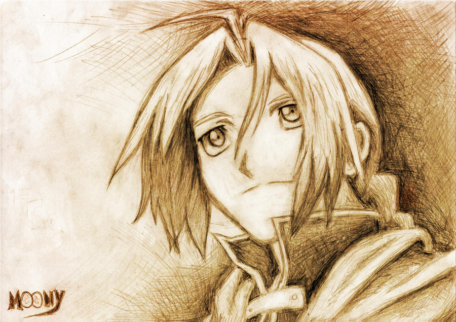 Edward Elric by Moonyasha93
