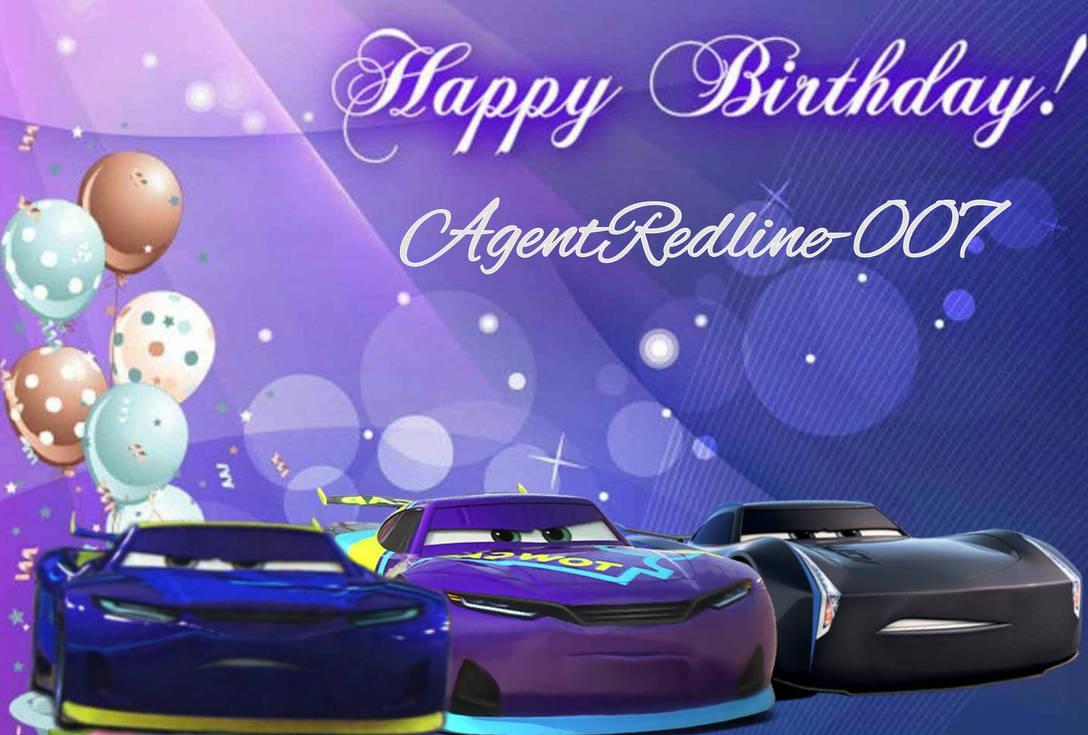 Happy Birthday Agentredline 007 By Metaknightfangirl15 On Deviantart