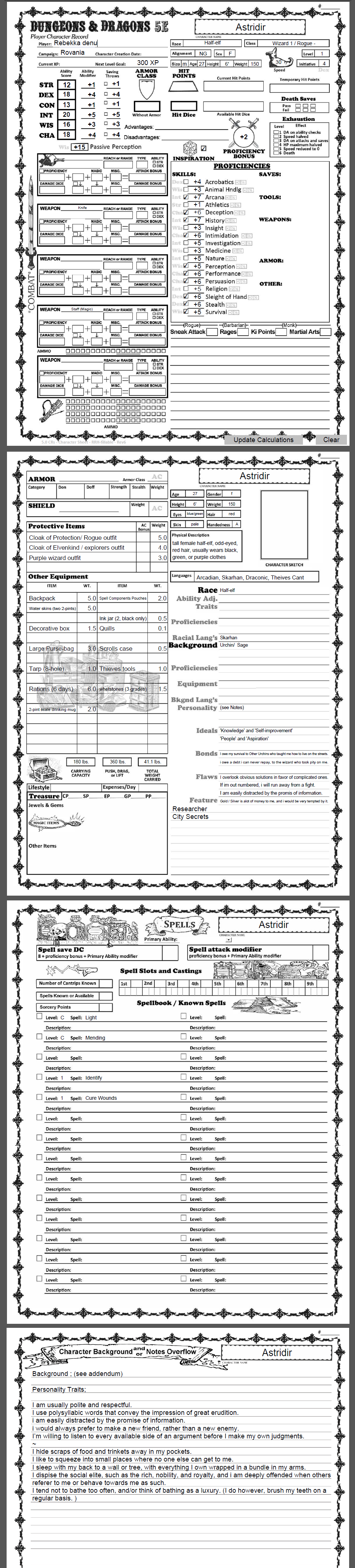 Char-sheet-DnD-5e by N-spired-Void on DeviantArt
