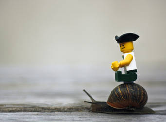 At a Snail's Pace by Geater