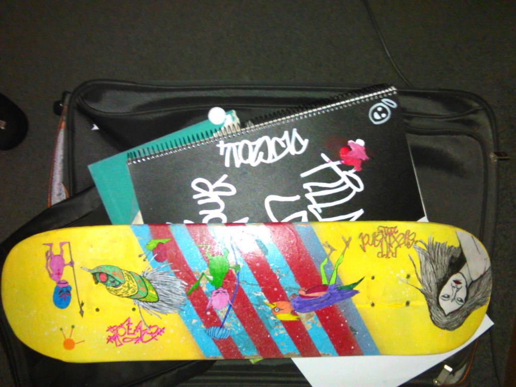 Alex Memorial Skateboard part 2 by damien-christian