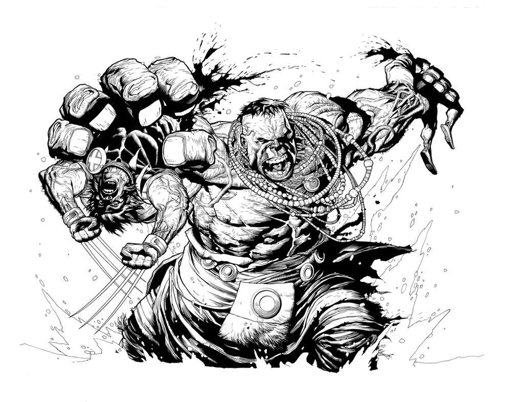 'Wolverine' ink by BuchmansStudios